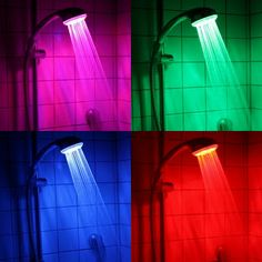 I wonder if we take a shower  will the glow in the dark make us the same color as they are?
