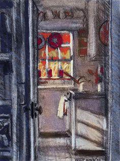 Edward Hopper's Truro Studio Kitchen -