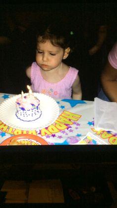 Kayla's Birthday Cake.  She was 2!!
