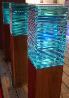 LED Wooden Bollard Light - Garden Lighting - Driveway Bollard Light   The Light Yard