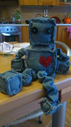cucito creativo Testa di cubo innamorato