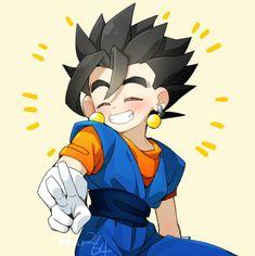 Dragon Ball Z, Dragon Ball Image, Dbz, Gogeta And Vegito, Pokemon, Cute Anime Character, Chibi Characters, Fan Art, Geek Stuff