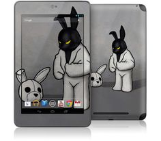 Black In White by Luke Chueh for Google Nexus 7