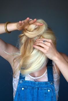 6 DIY hairstyles for long-haired ladies.this might help me keep my hair long just a tad longer :) 2015 Hairstyles, Pretty Hairstyles, Hair Dos, Gorgeous Hair, Hair Hacks, Her Hair, Hair Inspiration, Hair Makeup, Makeup Tips