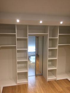 Walk In Closet Design, Wardrobe Design Bedroom, Closet Designs, Closet Renovation, Closet Remodel, Hidden Door Bookcase, Parents Room, Dressing Room Design, Build A Closet