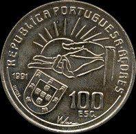 100 Escudos - 1991