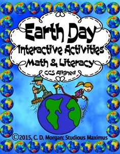 81 best earth day earth hour images on pinterest earth day earth day literacy and math interactive activities ccuart Image collections