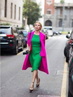 Fashion Fix: Roze jas - My Simply Special