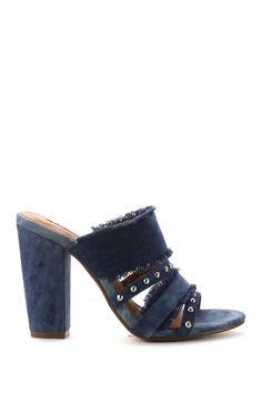 Cape Robbin - Lisa Frayed Denim Heel is now 38% off. Free Shipping on orders over $100. Denim Heels, Nordstrom Rack, Heeled Mules, Cape, Lisa, Free Shipping, Shoes, Fashion, Mantle
