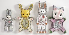 Facing Our Foibles With Humor, Grace and Whimsy: Cleo Mussi | Mosaic Art NOW