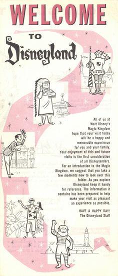 Disneyland brochure, 1963