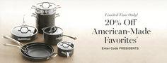 20% Off American-Made Favorites | Williams-Sonoma