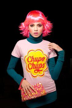 Pink t-Shirt. Chupa Chups Fashion