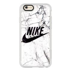 WHITE AND BLACK MARBLE NIKE - iPhone 6s Case,iPhone 6 Case,iPhone 6s... ($40) ❤ liked on Polyvore featuring accessories, tech accessories, iphone case, iphone cases, apple iphone cases, iphone cover case, clear iphone cases and iphone hard case