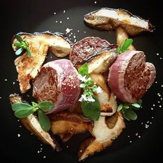 Viande&Champignon...... #menubistronomique #cèpe #boeuf #boeuffrancais #mushroom #fleurdeseldeguerande #yummy #Food #Foodista #PornFood #Cuisine #Yummy #Cooking