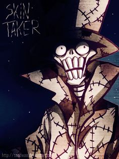 The Skin Taker from the Creepypasta Candle Cove