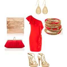 Vegas Outfit, created by Mary Freeman on Polyvore