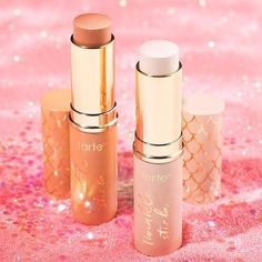 """Tarte Cosmetics on Instagram: """"Give yourself the ultimate glow wherever you go with our Rainforest of the Sea twinkle stick highlighters! Available now on tarte.com and…"""""""