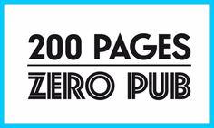 """Carton 24h01 """"200 pages, zéro pub"""""""
