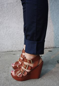 Cynthia Vincent shoes - wedges are the wonder shoe