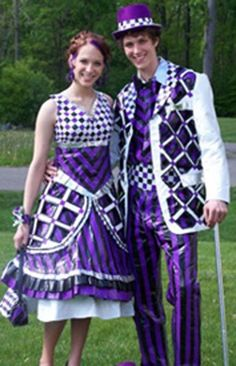 25 Fantastic Duct Tape Prom Couples | SMOSH