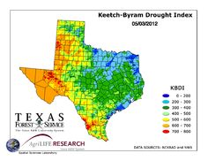 NOAA's Southeast Texas Drought Information