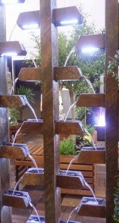 36  Ideas for diy garden fountain waterfall #diy #garden