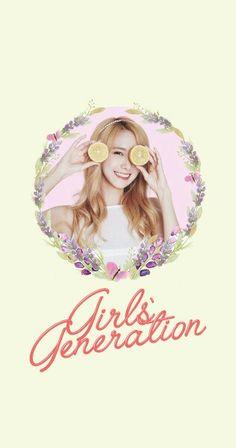 Girls' Generation SNSD Yoona Lockscreen Phone Wallpaper