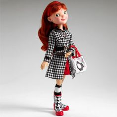 Little miss mixmatched uptown girl doll... Comes with hundreds of mix and match accessories