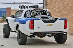 """""""Convirtieron un Colorado 2015 en un prerunner, un tipo de vehículo utilizado para realizar el reconocimiento de carreteras de competencias off-road"""""""