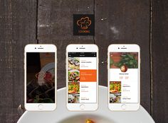 """Check out my @Behance project: """"Cooking iOS App"""" https://www.behance.net/gallery/34216213/Cooking-iOS-App"""