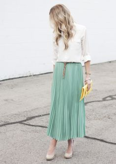 Elle Apparel:: Mint + Yellow