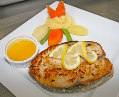Fish Wednesday - Il Wahoo Lemon at Don Vito Restaurant, Boracay Island, Philippines