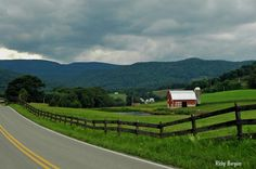 Pocahontas County, WV farm.  Rick Burgess
