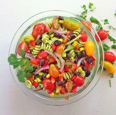 Summer Salad {10-Minute Dinner}