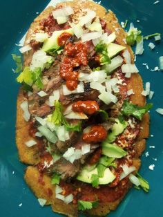 Grilled Steak Huaraches - Hispanic Kitchen