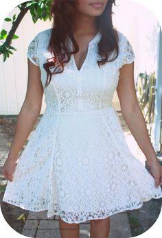 Easter, White, Lace Dress www.macdonaldsplayland.com
