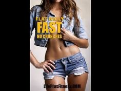 Flat Belly Fast No Crunches Workout - I worked through this entire video - wow!  I hate crunches...