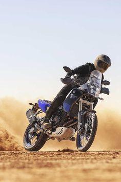 Wenn du mit einer neuen Ténéré 700 fährst, kann es deine Traumzukunft bedeuten. Da dies ein Motorrad ist, mit welchem du überall hinfahren kannst, ermöglicht es dir, ein grenzenloses Leben zu leben und ein neues Gefühl der vollkommenen Freiheit zu erfahren. Yamaha, Bike, Bicycles, Motorcycles, Adventure, Motorbikes, Touring, Freedom, Life