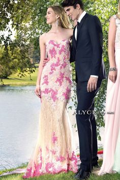 Alyce Paris Prom Dress 6430 *also in nude/blue