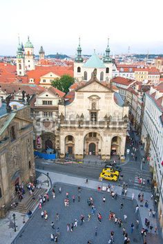 Angle view< Prague, Czech Republic