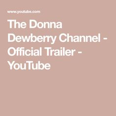 The Donna Dewberry Channel - Official Trailer - YouTube One Stroke Painting, Donna Dewberry, Official Trailer, Channel, Youtube, Youtubers, Youtube Movies