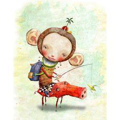 Cosei Kawa, ilustradora japonesa.