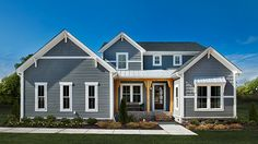 Like the colors/textures on the exterior Schumacher Homes | House Plan Detail