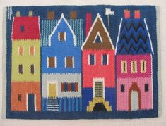 Image result for houses in tapestry weaving