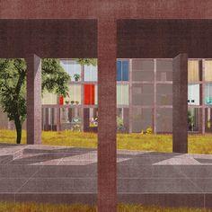 Pier Vittorio AURELI //Venus. Proposal for 800 social housing units at Vieusseux-Villars-Franchises, Genève, 2013