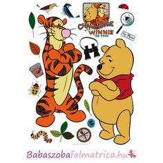 Micimackó és Tigris gyerek falmatrica  disney  micimackó  babaszoba   falmatrica  faldekoráció  gyerekszoba 3a2259bbc5