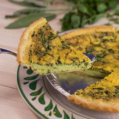 This is an indulgent holiday-worthy quiche recipe. Damaris Phillips' herb and sausage quiche uses fresh herbs, sausage, eggs, butter AND cheese. Food Network Recipes, Cooking Recipes, Healthy Recipes, Cooking Videos, Healthy Food, Sausage Quiche, Rachel Ray Recipes, Breakfast Recipes, Dinner Recipes