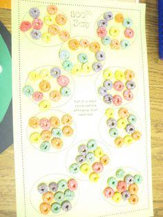 100th Day math activity