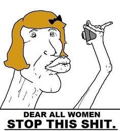 Duck Face-please STOP